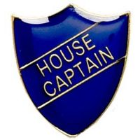 ShieldBadge House Captain Blue</br>SB015B